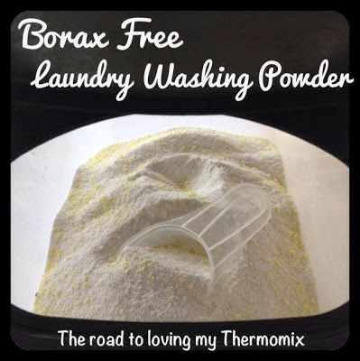 The road to loving my Thermomix: Homemade Washing Powder