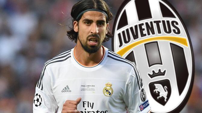 Benvenuto Sami Khedira Juventus