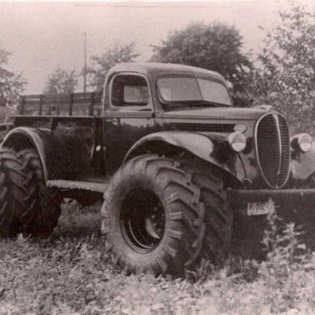 way back in the day ….. dodge power wagon i believe