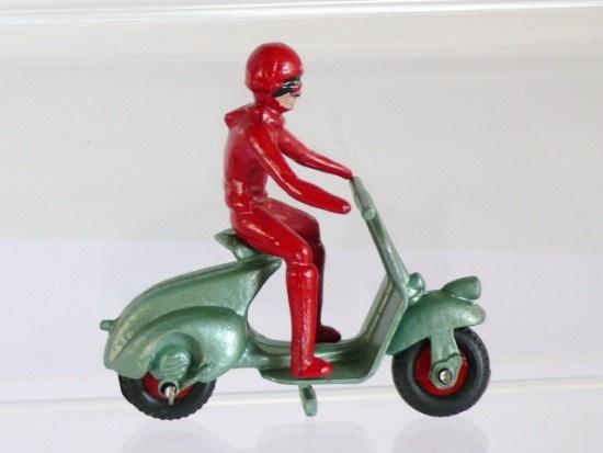 Benbros Vespa Scooter Die Cast Toy (1950s)