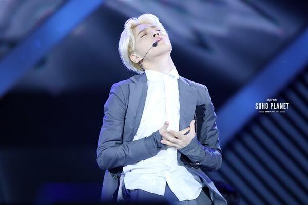 ❤ 140614 EXO - #LOSTPLANETinWUHAN ❤ #suho