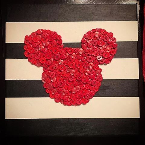 Home Crafts are our ultimate favorite here at Disney_Crafts! This wonderful Mickey inspired Button wall art made by @xmama_miax is one example of why! #runninghetomakeit #DIYDisneyCrafts  #diydisney #disneycrafting #disneycraft #DIYDisneyCraft #magicalmakers #disneycrafts #disneystyle #mmlshare #disneyinspired #disneyathome #disneydecor #disneydecoration