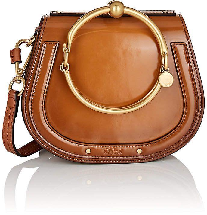 Chloé Women s Nile Small Leather Crossbody Bag  smalldesignerpurse ... 45ece0ee6220c