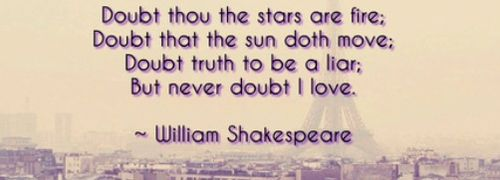 Discover the Top 10 Greatest Shakespeare Quotes: inspirational William Shakespeare love, life and wisdom quotes, poems and poetry. Author of Macbeth, Romeo and Juliet, Hamlet, Merchant of Venice, Much Ado About Nothing, King Lear, Othello, Midsummer Night's Dream, King Lear and The Tempest.