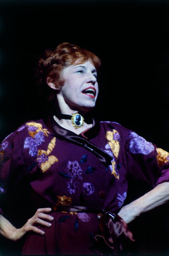 Lotte Lenya in the original Cabaret - Original Broadway Cast Recording 1966   The Official Masterworks Broadway Site