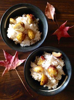 焼き栗ごはんと茄子の田舎煮(・ω・)ノ|レシピブログ