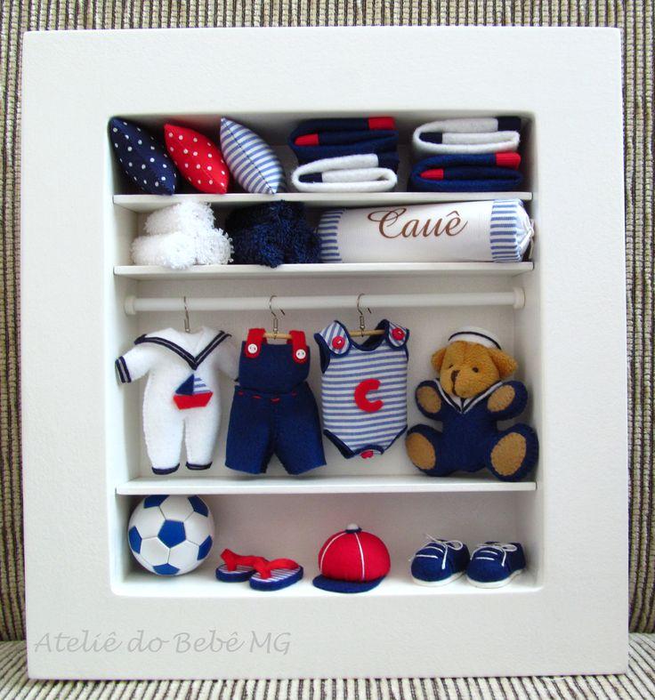 Mini Closet Marinheiro   roseaneatelier.blogspot.com