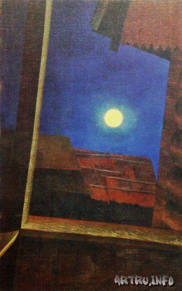 Название: Луна над деревней Автор: Чупятов Л.Т. Об авторе Все произведения Год: 1936