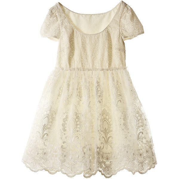 【ELLE SHOP】ワンピースホワイト|ジル スチュアート(JILLSTUART)|ファッション通販 エル・ショップ ($305) ❤ liked on Polyvore featuring dresses, vestidos, short dresses, tops, mini dress, jill stuart dress and jill stuart