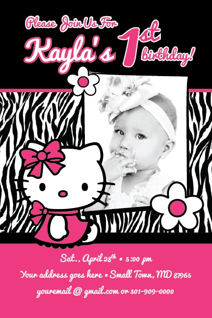 Hello kitty first birthday invitation orderecigsjuicefo 19 best hello kitty birthday ideas images on pinterest hello printable invitations filmwisefo