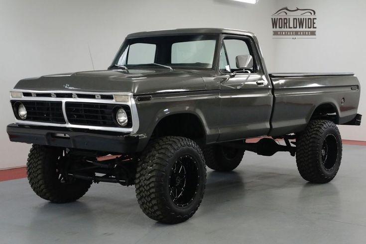 Ebay 1975 Ford F250 Highboy Restored Custom Wheels 460 Big Block Call 1 877 422 2940 Financing