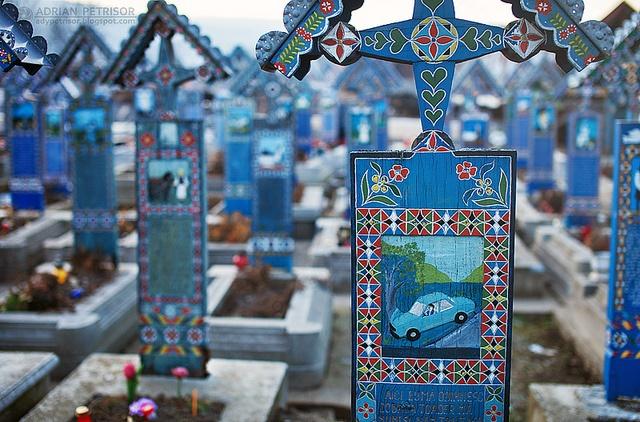 The Happy Cemetery - Cimitirul Vesel din Sapanta - Maramures - Romania   Adrian Petrisor