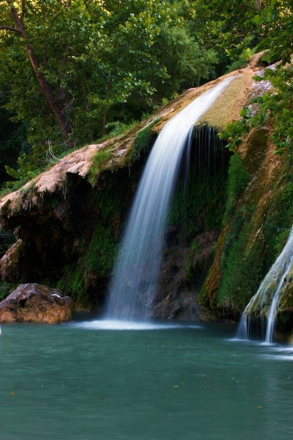 Turner Falls Oklahoma | Turner Falls is in the Arbuckle Mountains in Davis, Oklahoma. It's a ...