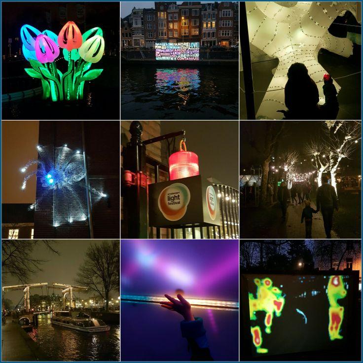Uittip met kids: lichtjes kijken bij het Amsterdam Light Festival #leukmetkids #lekkerwegineigenland #Amsterdam
