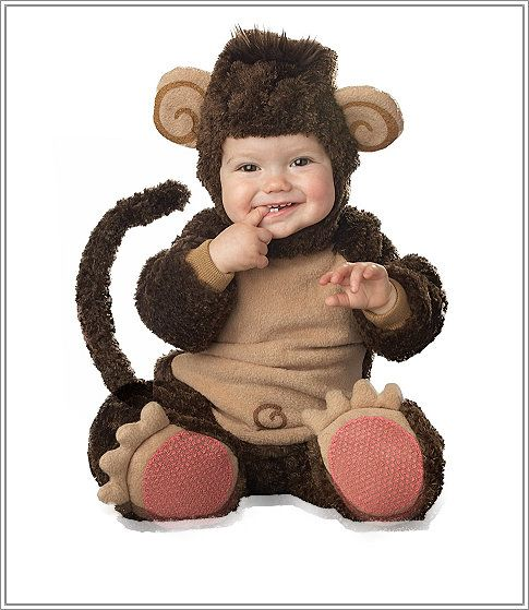 Baby Monkey Costume | Infant Monkey Costume - Babies in Funny Costumes