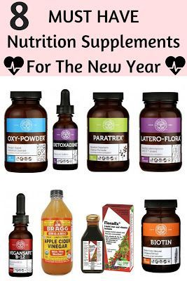 The Makeup Equation: 8 Must Have Nutrition Supplements For The New Year