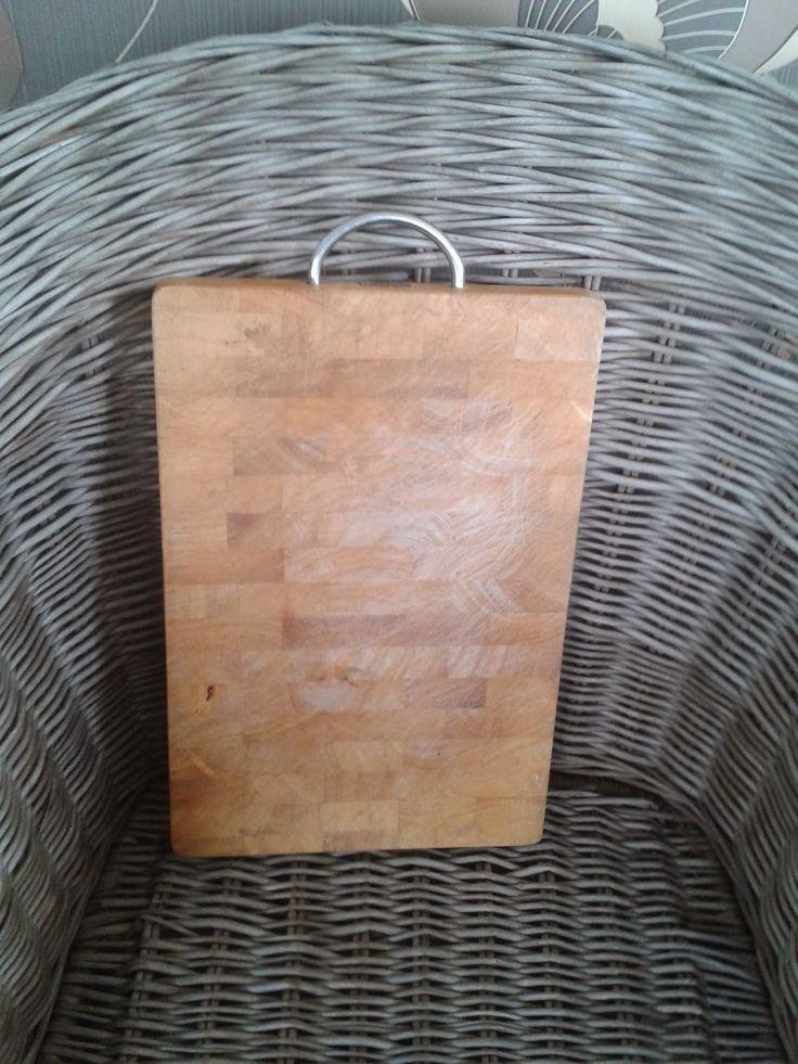 Mebelki Danielki - malowanie mebli, decoupage i inne twory: Metamorfoza deski bambusowej