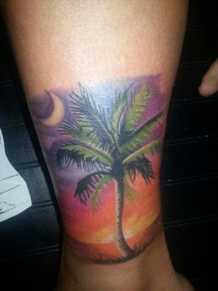 43 Super Ideas Palm Tree Tattoo Ideas Beach Tat