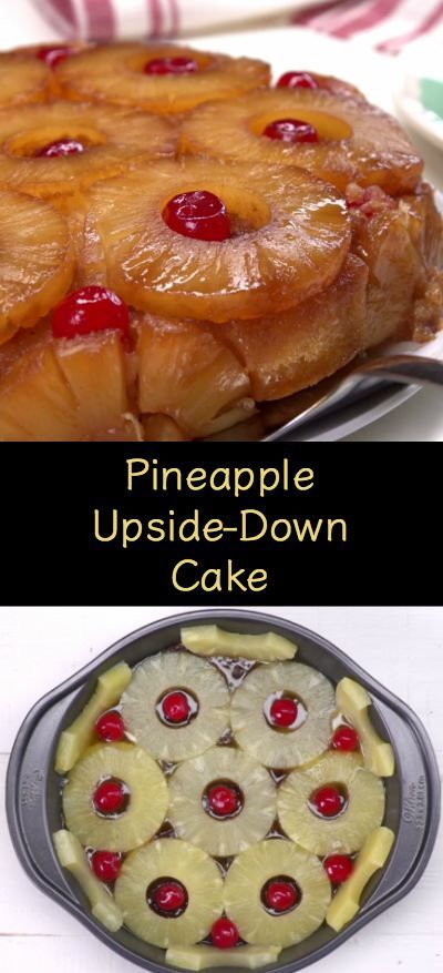 This homemade Pineapple Upside-Down Cake recipe tastes like the tropics and packs presentation appeal.