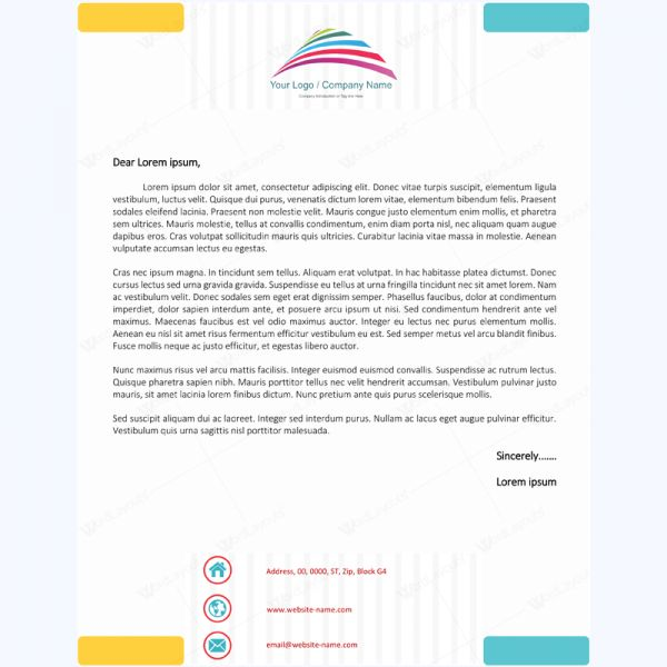 26 best Letterhead Templates images on Pinterest Printing - free word letterhead template