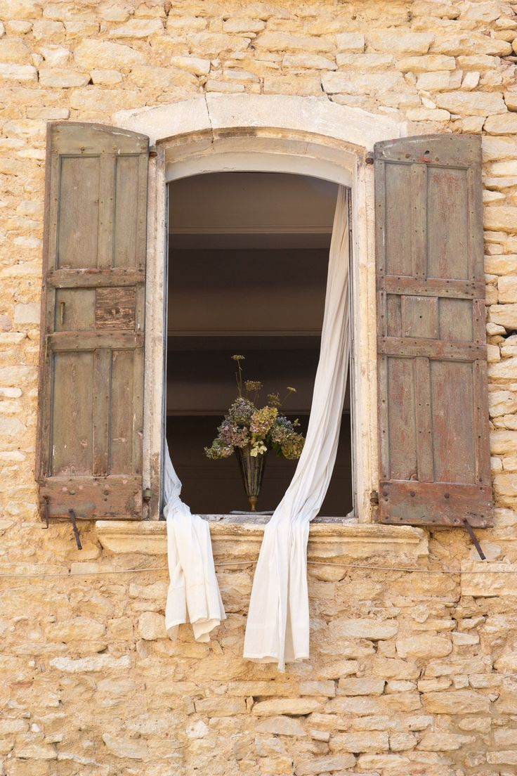 Romantic+old+window+in+Provence | Romantic Window by DeviantTeddine