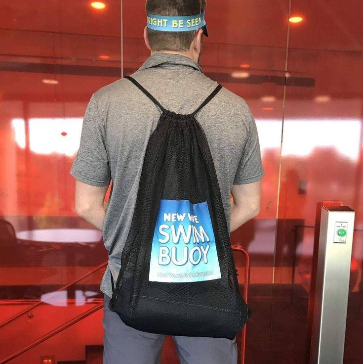 New Wave Mesh Backpack for Triathlon Gear, Swim Equipment & Beach Toys
