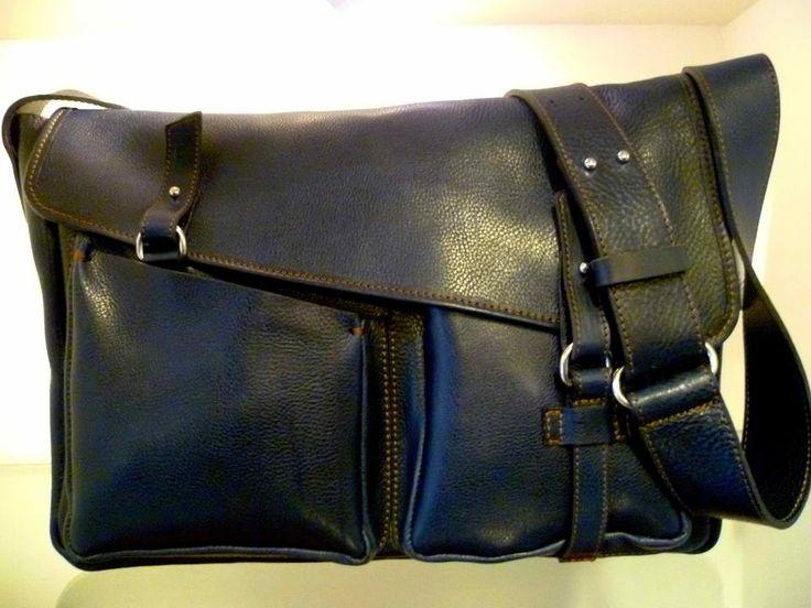 #borsa in cuoio bottato e scamosciato...www.bottegabossa.com