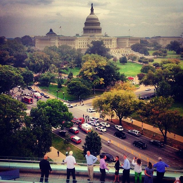 """From """"Gunshots at US Capitol"""" story by NYPStaff on Storify — http://storify.com/NYPStaff/gunshots-at-us-capitol"""