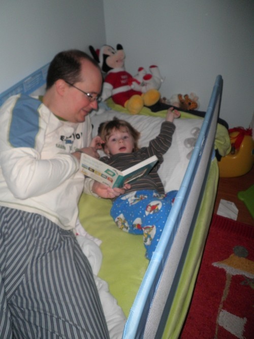 In honour of World Book Day - so many children grow up with the TV, computer games, even the little ones are now targeted by the Leappad and other toddler-themed devices, how do you encourage the children to read?