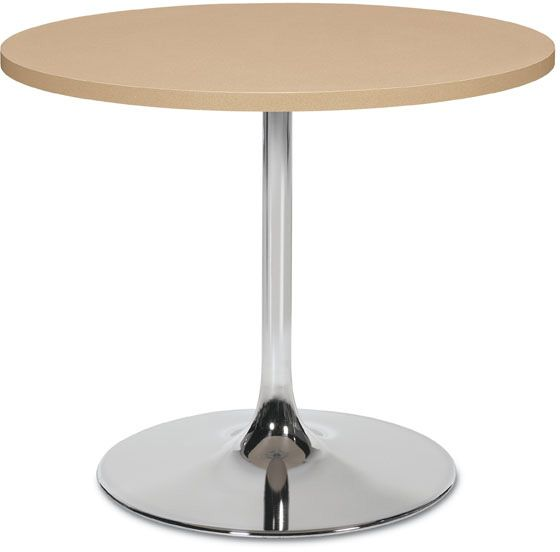 GLOBAL INDUSTRIES   Trumpet Base Table   Break Rooms, Collaboration Spaces