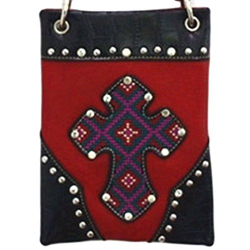 New Trending Bumbags: The Chic Bag - Boho Chic 4-way Bag - Appliqued Cross with Aztec Print  Studs (Red; 6x8x1in) - BUY 2 GET A 3rd BAG FREE!. The Chic Bag – Boho Chic 4-way Bag – Appliqued Cross with Aztec Print  Studs (Red; 6x8x1in) – BUY 2 GET A 3rd BAG FREE!   Special Offer: $39.95      411 Reviews The Chic Bag designs and manufactures innovative cross-body designer handbags releasing new and exciting...