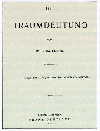 L'interpretazione dei sogni, Freud