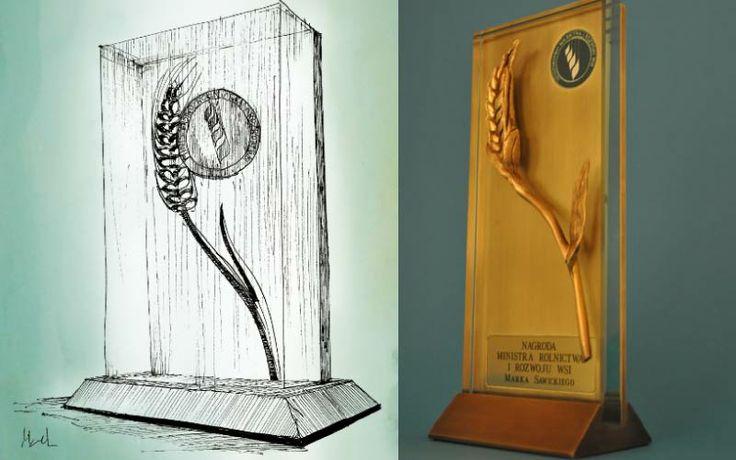 Nagroda została wykonana ze szkła oraz brązu. Projekt został przygotowany przez naszą firmą. Elementem najważniejszym statuetki jest źdźbło wykonane przez naszego artystę. Prosta forma a przy tym bardzo elegancka.