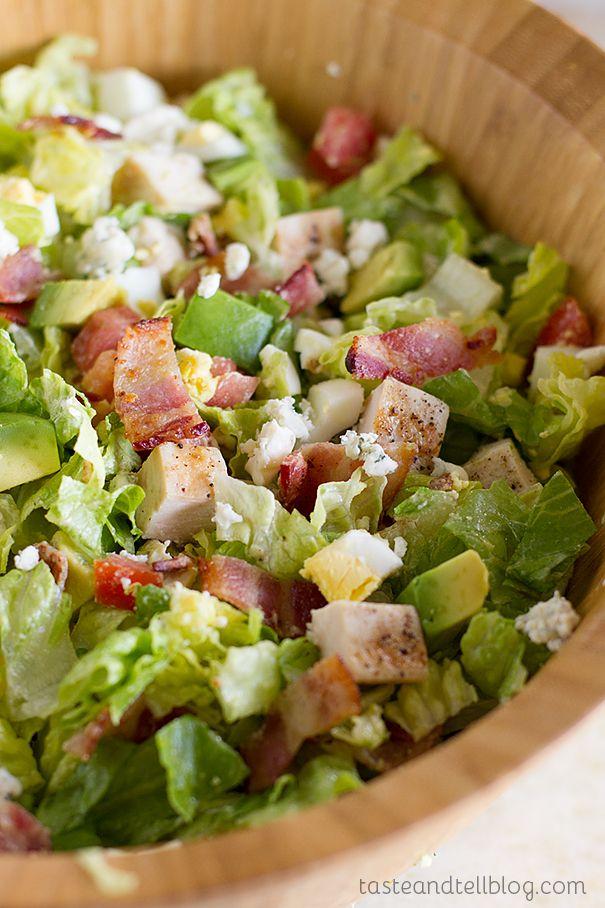 Chopped Cobb Salad Recipe