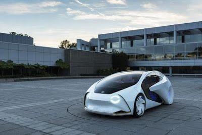 INNOVATIONS OF 2K17: TOYOTA FUTURISTIC CAR