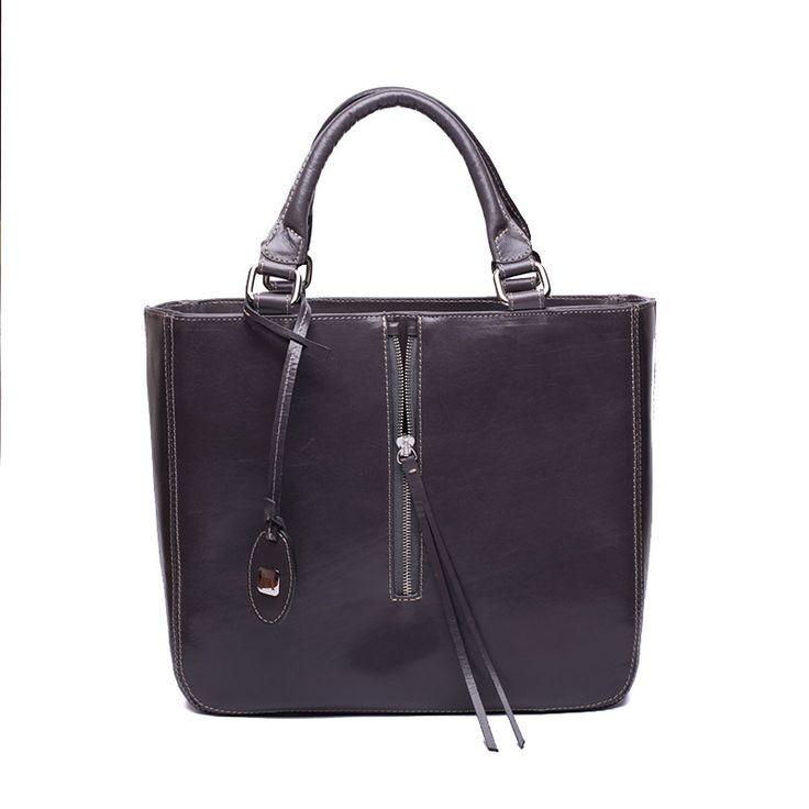 A brand new handbag - handmade, natural leather