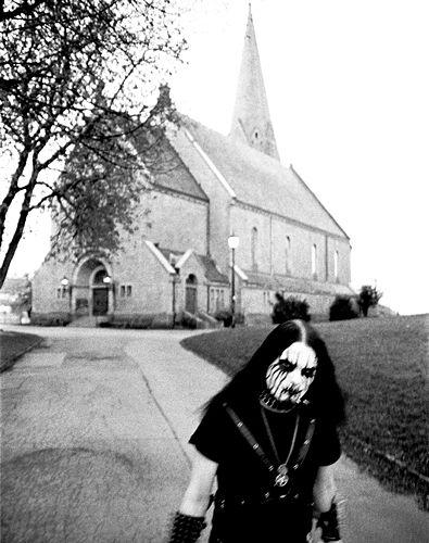 Nattefrost in Oslo  #black #metal #blackmetal