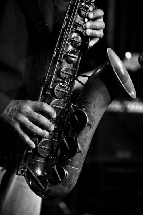 """jjones186:    """"Don't play the saxophone. Let it play you."""""""