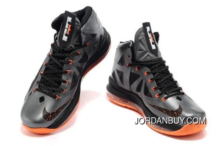 http://www.jordanbuy.com/2013-nike-zoom-lebron-10-x-mens-shoes-grey-black-orange-clearance.html 2013 NIKE ZOOM LEBRON 10 X MENS SHOES GREY BLACK ORANGE CLEARANCE Only $85.00 , Free Shipping!