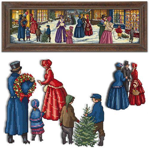 Victorian Christmas Eve - Stitcherydoodahs