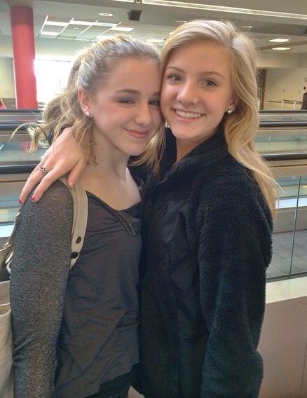 (@hahaH0ll13 Dance Moms Spam) The original twinnies Chloe Lukasiak and Paige Hyland