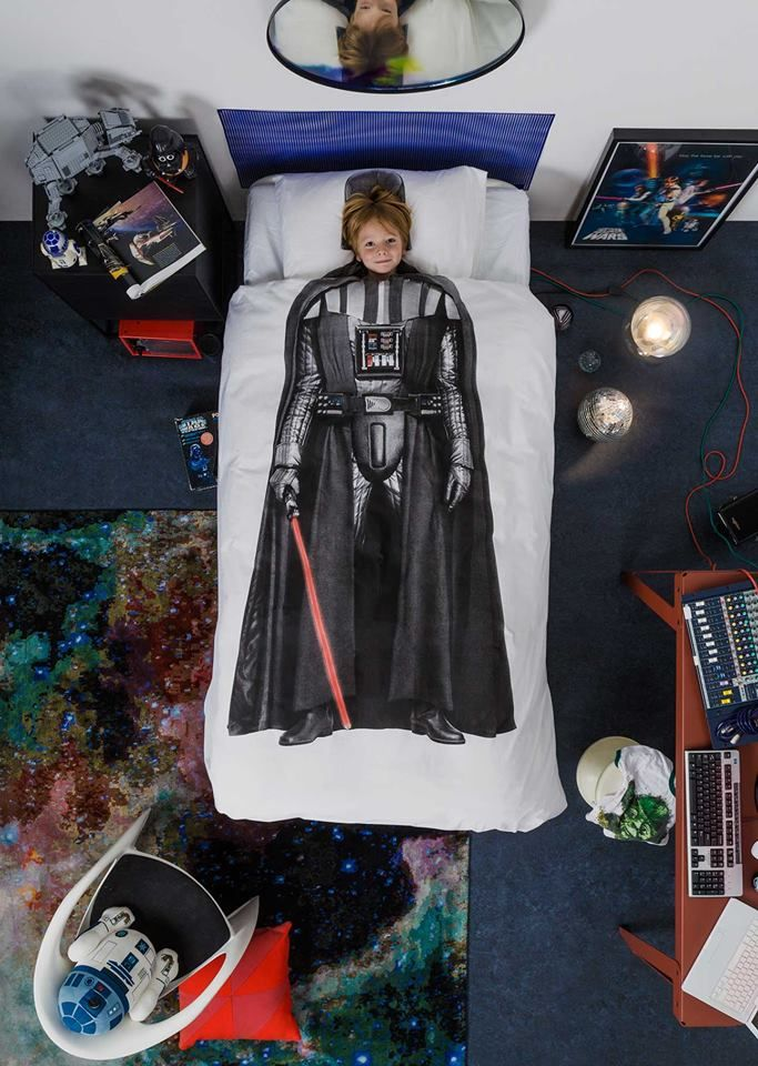 J. Kids' Snurk Star Wars Darth Vader Bedding