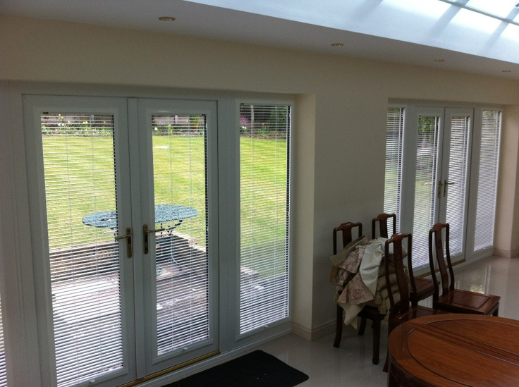 perfect fit venetian blinds on patio doors by harmony blinds of bolton louvolite blinds. Black Bedroom Furniture Sets. Home Design Ideas