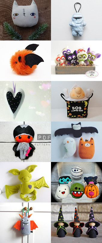 Halloween Toys! by Ana Jerónimo on Etsy--Pinned+with+TreasuryPin.com
