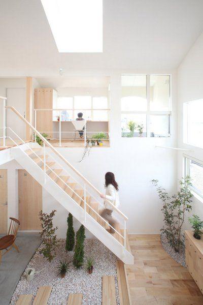 Great design with unique indoor garden interior