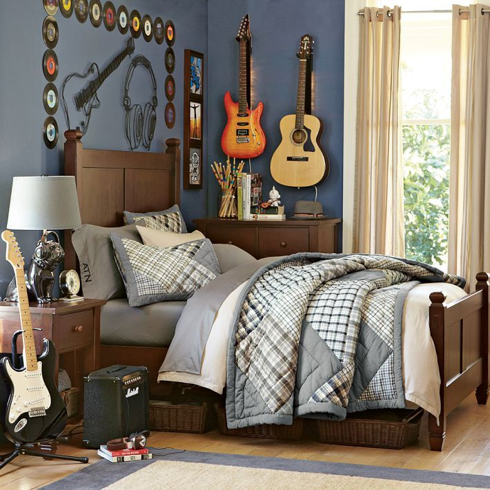 Cool Teenage Boy Bedrooms | teen-bedroom-musical