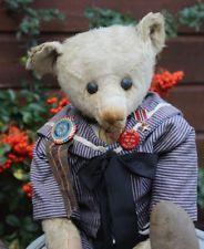 c1908 antique Steiff teddy bear