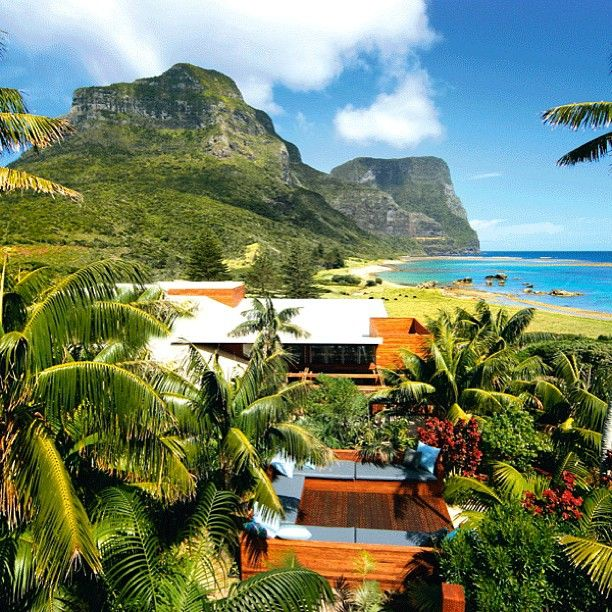 Capella Lodge on Lord Howe Island, Australia