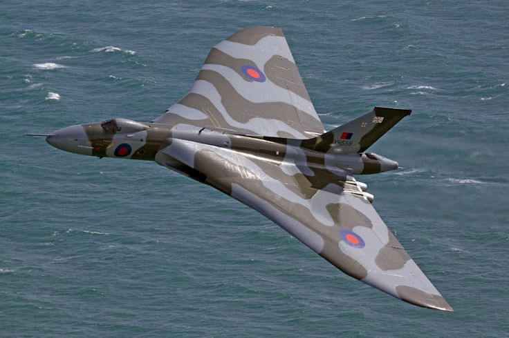 Vulcan to the Sky's amazing Avro Vulcan XH558 at Eastbourne 2012 - courtesy of Andrew Brown. If you are really passionate, please consider donating to their Operation 2015, to keep this grand old lady flying. http://www.vulcantothesky.org/