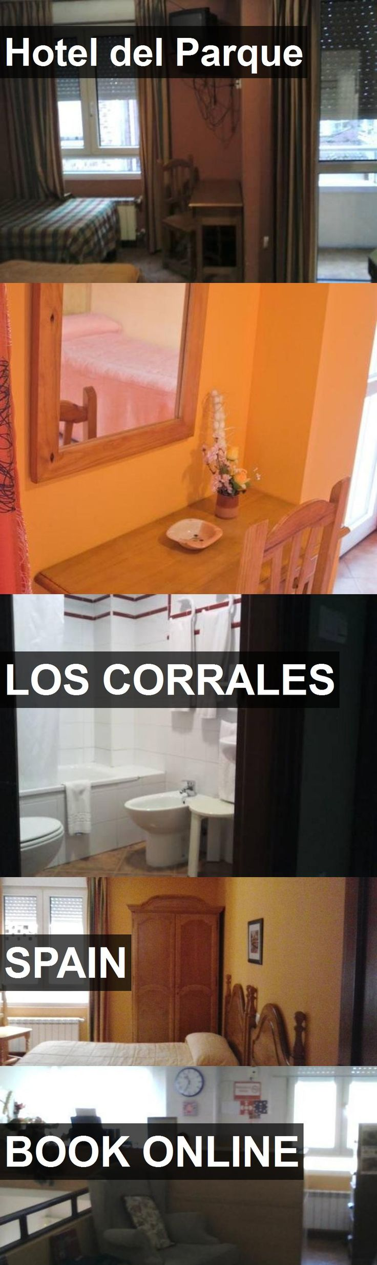 Hotel Hotel del Parque in Los Corrales, Spain. For more information, photos, reviews and best prices please follow the link. #Spain #LosCorrales #HoteldelParque #hotel #travel #vacation